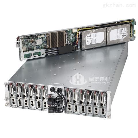 超微5038ML-H12TR 3U12节点高性能服务器