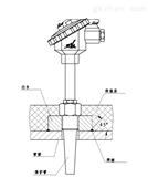 整体钻孔热套式(锥度)防爆热电阻