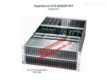 超微4028GR-TRT 24盘位双路主板运算服务器