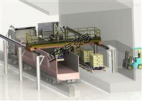 淀粉全自动装车设备 粮食机器人装车机图片