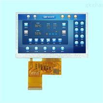4.3寸TFT显示屏 800*480分辨率电容触摸屏
