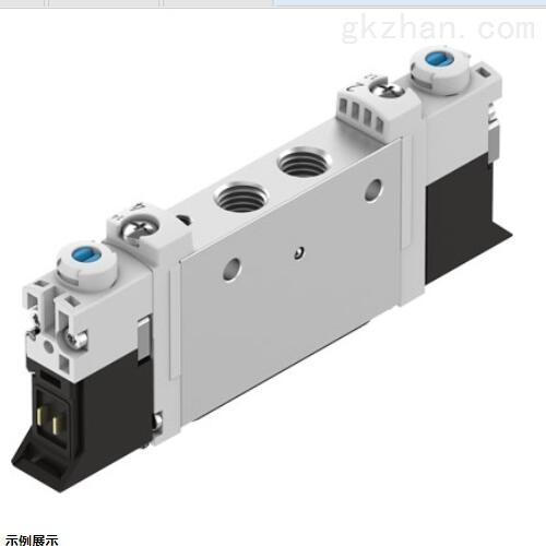 中文数据;FESTO电磁阀:单电控