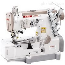 JT888-02BB 上滚条用两面装饰缝平台式绷缝机