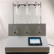 聚同二氧化硫蒸馏仪触屏控制易操作