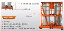 铝合金双桅柱高空作业平台