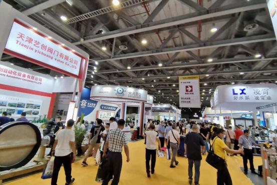 第五届广东国际泵管阀展览会今日火爆开幕!