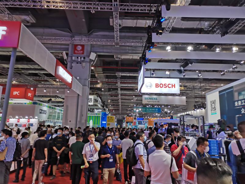 第22届中国国际工业博览会精美展台一览