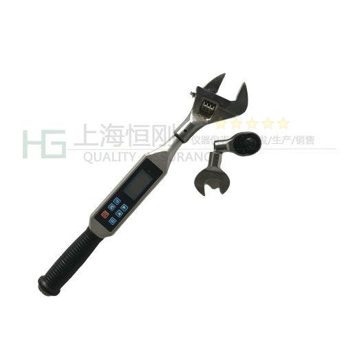 可调式扭力圆螺母扳手图片(可配活动开口头)
