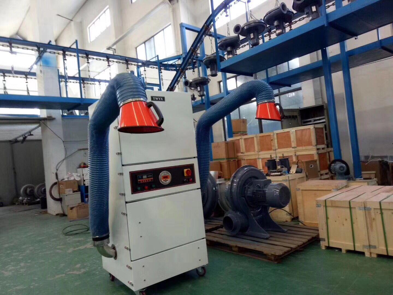 抛光打磨粉尘收集 工业除尘器 表面抛光除锈打磨脉冲工业除尘器示例图10