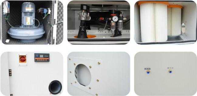 磨床吸尘器 平面工具磨床吸尘器 高压大吸力磨床吸尘器包邮示例图37