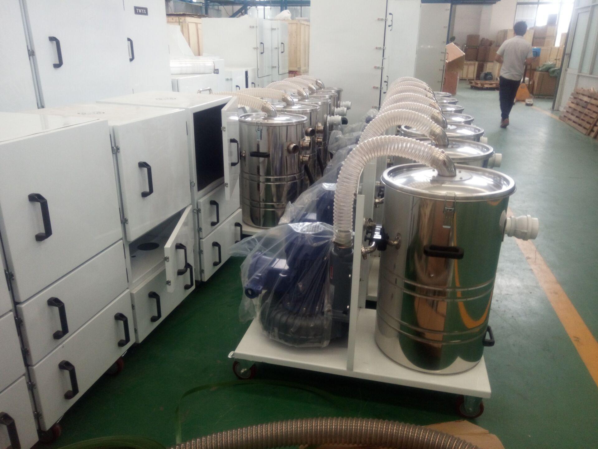 生产厂家工业移动式吸尘器 集尘机 固定式吸尘器 双桶吸尘器示例图15