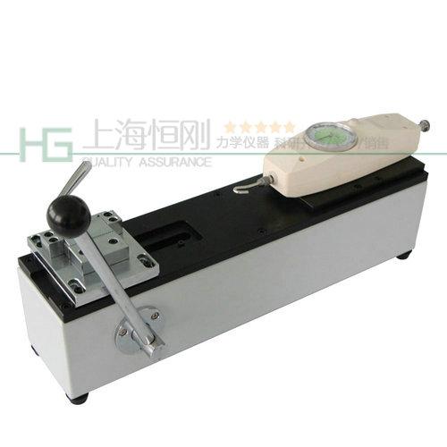 卧式拉力测试机图片  可配置表盘推拉力计