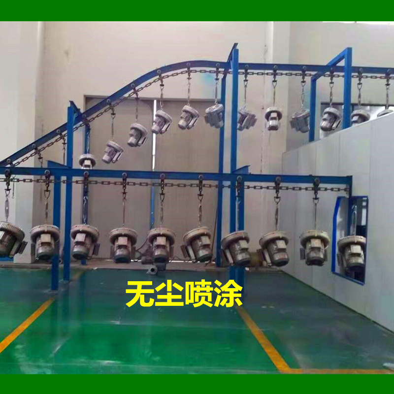 污水处理双段 双级高压风机 曝气用风机 化工废水曝气漩涡气泵示例图6