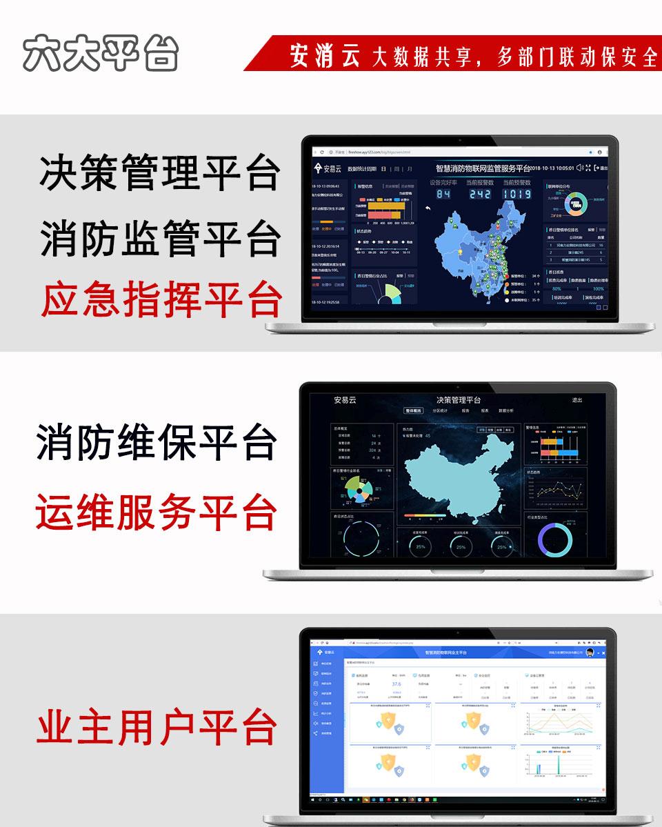 山西智慧消防物联网云平台