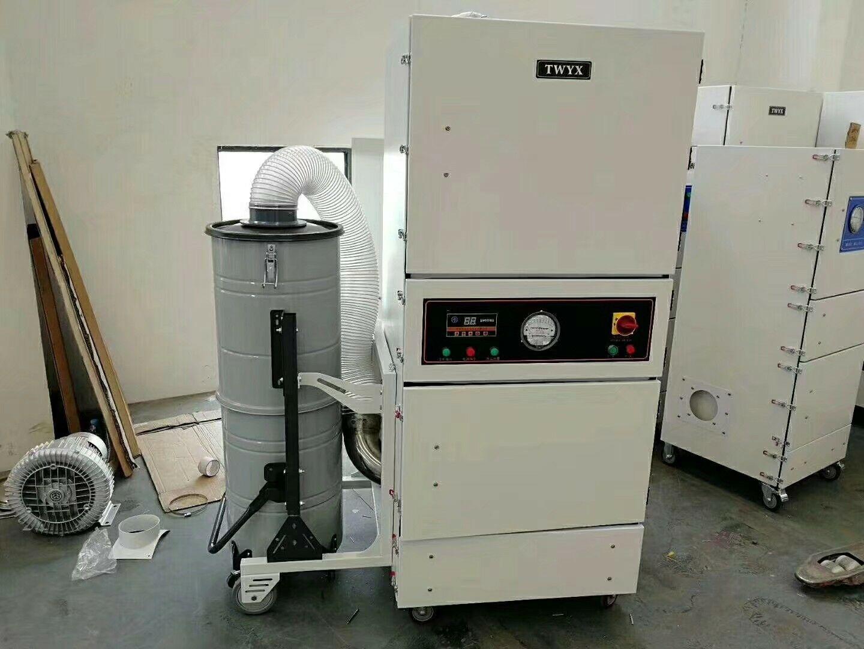 非标定制 磨床吸尘器CW-220S  功率2.2kw磨床金属粉末工业磨床吸尘器 工业吸尘器示例图14