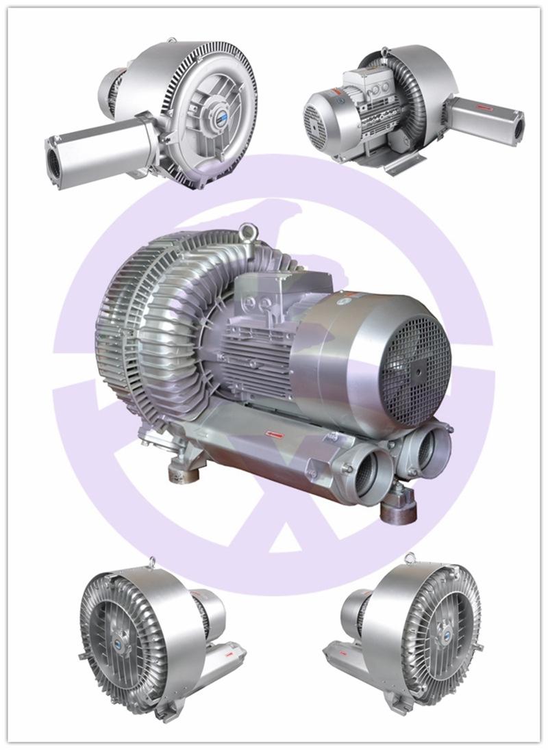 双叶轮高压鼓风机 上料机高压风机 物料输送漩涡气泵 双段高压风机 扦样机风机示例图5