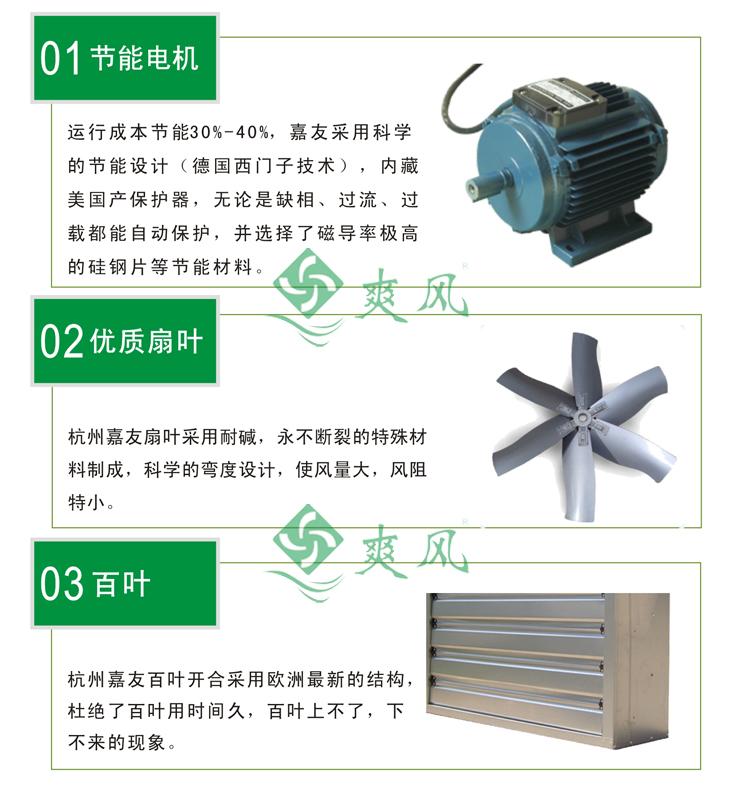 负压风机细节产品特点说明图