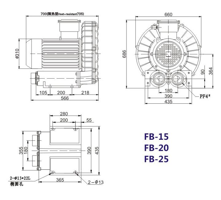 洛阳气体防爆高压风机 FB-25气体防爆高压风机 厂家防爆风机示例图19