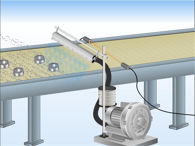 高精密铝合金风刀水滴式铝合金风刀玻璃吹水吹干风刀示例图6