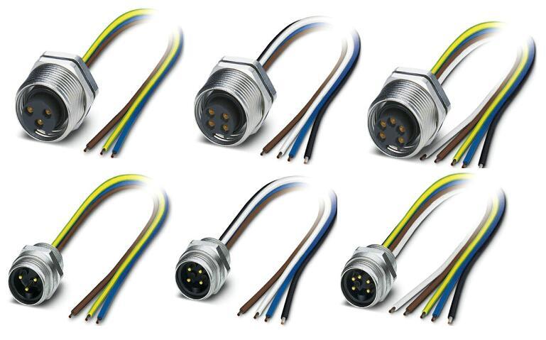 <strong>devicenet圆形连接器</strong>是一个简单、廉价而且高效的协议,适用于低层的现场总线,例如:过程传感器、执行器、阀组、电动机起动器、条形码读取器、变频驱动器、面板显示器、操作员接口和其他控制单元的网络。可通过DeviceNet连接的设备包括从简单的挡光板到复杂的真空泵各种半导体产品。