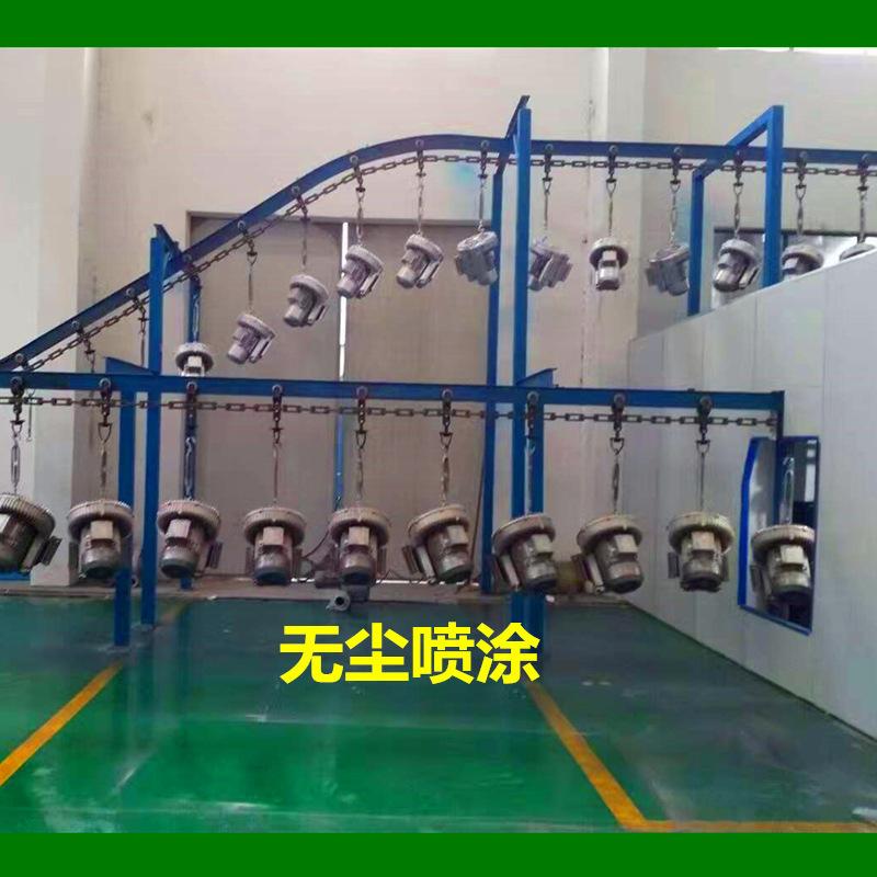 双段高压风机 双叶轮旋涡高压鼓风机 厂家漩涡高压气泵示例图8