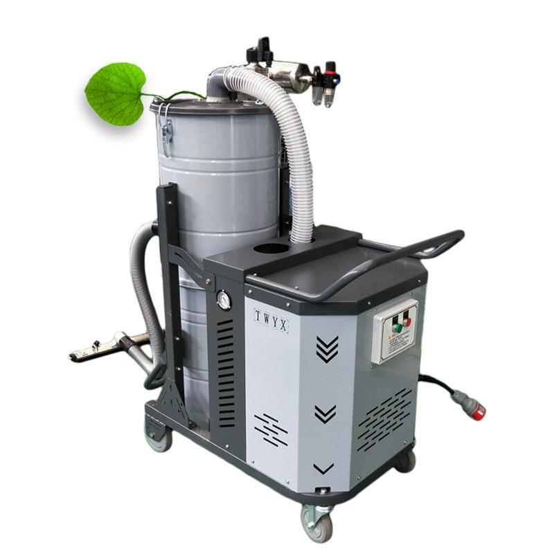 厂家直销工业吸尘器 吸车间粉尘 上下分离桶全自动脉冲工业吸尘器示例图18