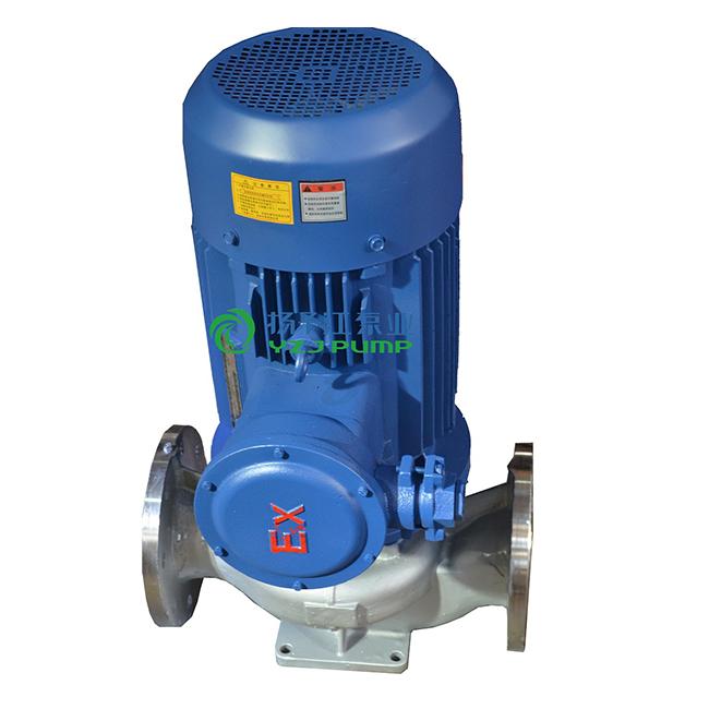 IHG型立式单级单吸不锈钢防爆离心泵