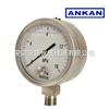 无锡/南京/YE-150BFZ 不锈钢膜盒耐震压力表/抗震/
