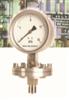 TKYNML-100B/DN40/0-2.5mpa安徽天康法兰式隔膜耐震压力表系列